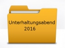Unterhaltungsabend 2016